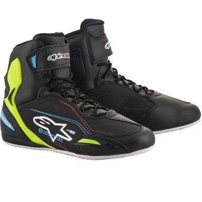 ALPINESTARS Faster-3 Black/YellowFluo/LightBlue