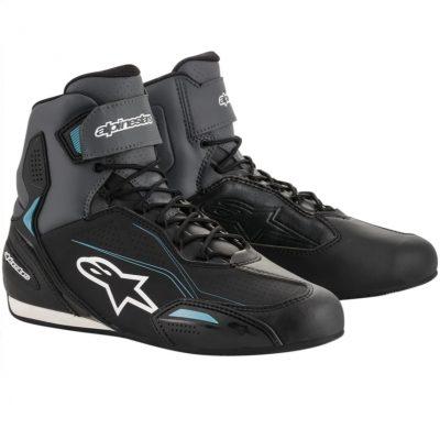 Дамски обувки ALPINESTARS Stella Faster-3 Black/Grey/Ocean