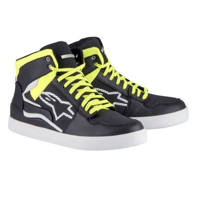 Обувки ALPINESTARS Stadium Black/White/Yellow Fluo