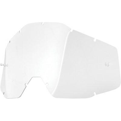 Плака за очила 100% Racecraft/Accuri/Strata – Clear