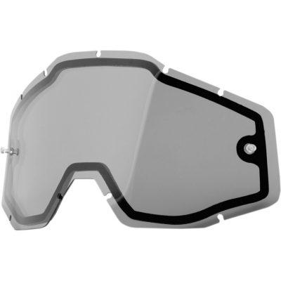 Двойна плака за очила 100% Racecraft/Accuri/Strata – Smoke