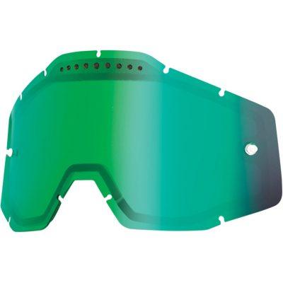 Вентилирана двойна плака 100% Racecraft/Accuri/Strata – Mirror Green