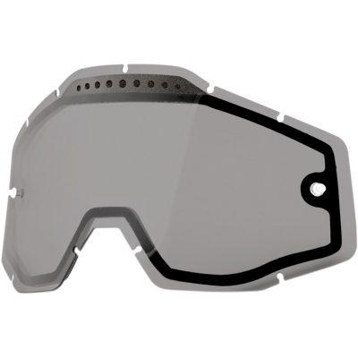 Вентилирана двойна плака за очила 100% Racecraft/Accuri/Strata – Smoke
