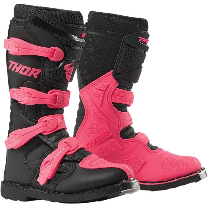 Дамски ботуши THOR Blitz XP Black/Pink