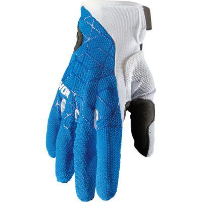 Ръкавици THOR Draft Blue/White