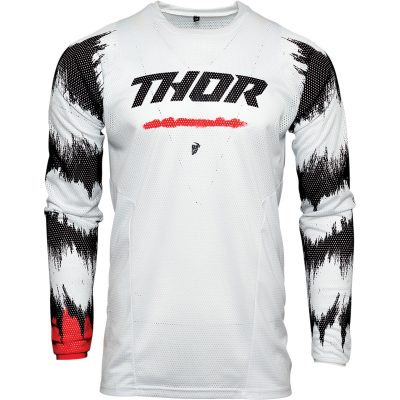Детско джърси THOR Pulse Air Radiate White/Red