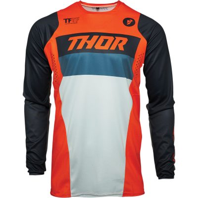 Детско джърси THOR Pulse Racer Orange/Midnight