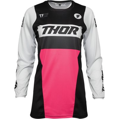 Дамско джърси THOR Pulse Racer Black/Pink