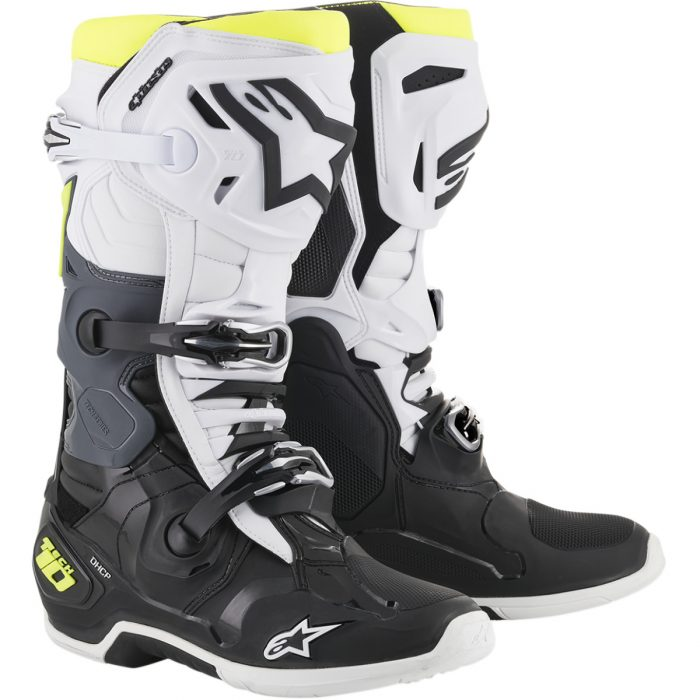Ботуши ALPINESTARS Tech 10 Dark Grey/Dark Blue/Red