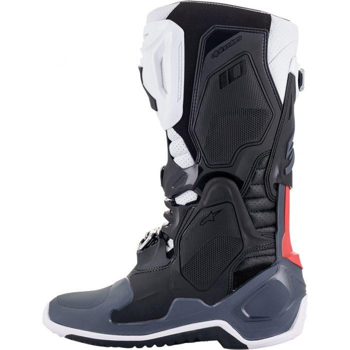 Ботуши ALPINESTARS Tech 10 Supervented Black/White/Grey/Red отвътре