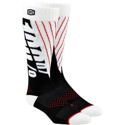 Чорапи 100% Torque Black/White