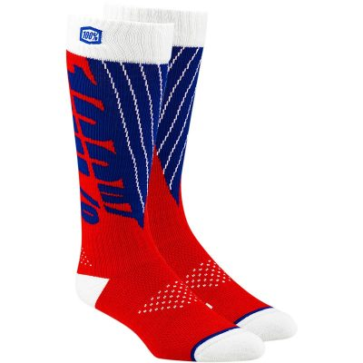 Чорапи 100% Torque Red/Blue