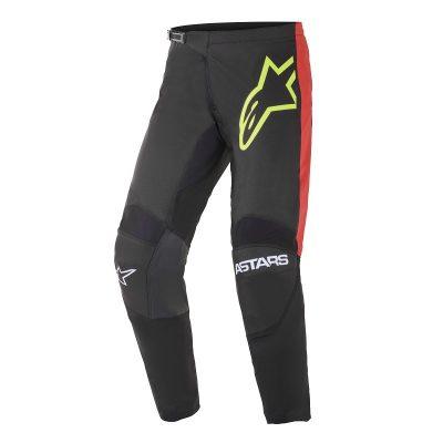 Панталон ALPINESTARS Fluid Tripple Black/Yellow Fluo/Bright Red