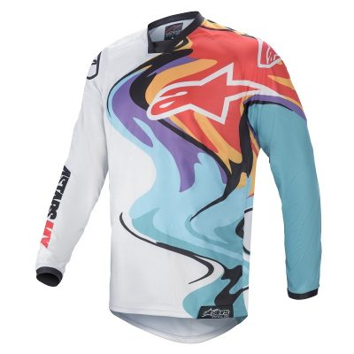 Блуза ALPINESTARS Racer Flagship White/Multicolor