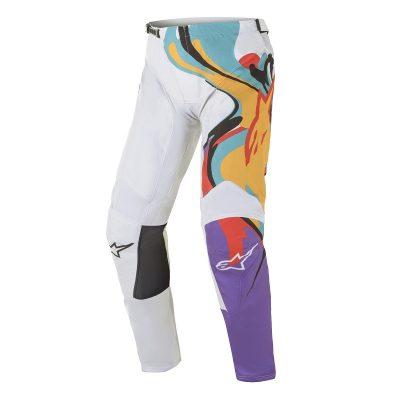Панталон ALPINESTARS Racer Flagship White/Multicolor