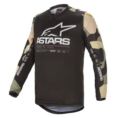 Блуза ALPINESTARS Racer Tactical Desert Camo White