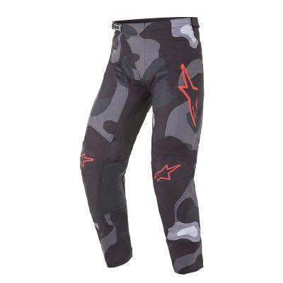 Панталон ALPINESTARS Racer Tactical Gray Camo Red Fluo