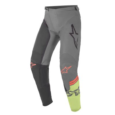 Панталон ALPINESTARS Racer Compass Black/Dark Grey/Green Fluo