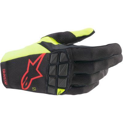 Ръкавици ALPINESTARS Racefend Black/Yellow Fluo/Red