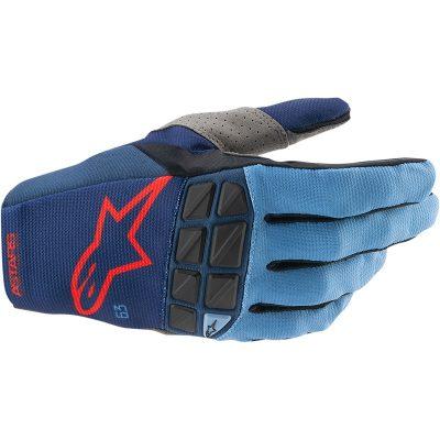 Ръкавици ALPINESTARS Racefend Dark Blue/Powder Blue/ Bright Red