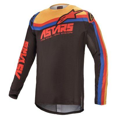 Блуза ALPINESTARS Techstar Venom Black/Red/Orange