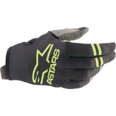 Ръкавици ALPINESTARS Radar Black/Green Fluo