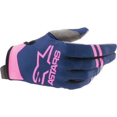 Ръкавици ALPINESTARS Radar Dark Blue/Pink Fluo