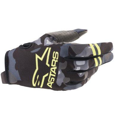 Ръкавици ALPINESTARS Radar Gray Camo/Yellow Fluo