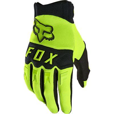 Ръкавици FOX Dirtpaw Fluo Yellow