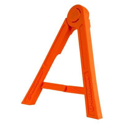 Сгъваем триъгълник стойка POLISPORT оранжев