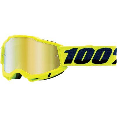 Очила 100% Accuri 2 Fluo Yellow