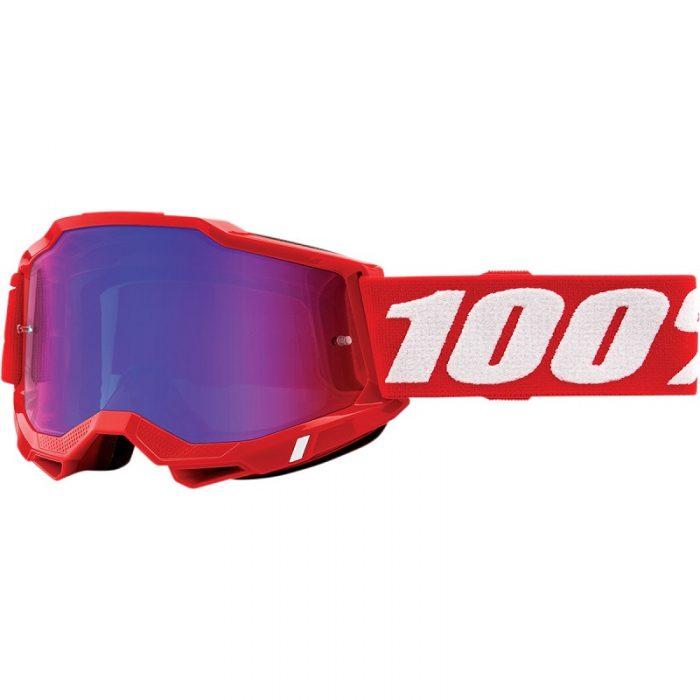 Очила 100% Accuri 2 Neon Red