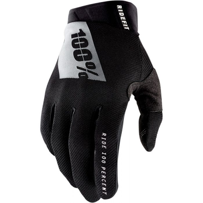 Ръкавици 100% Ridefit Black