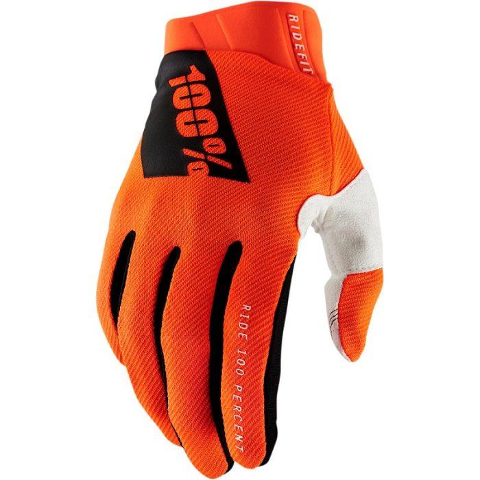 Ръкавици 100% Ridefit Fluo Orange