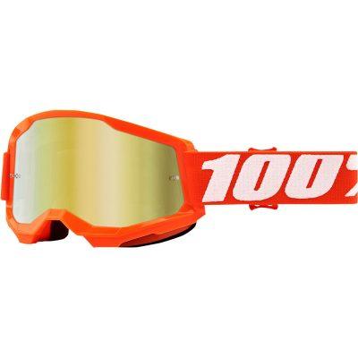 Очила 100% Strata 2 Orange