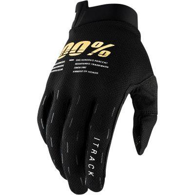 Ръкавици 100% iTRACK Black