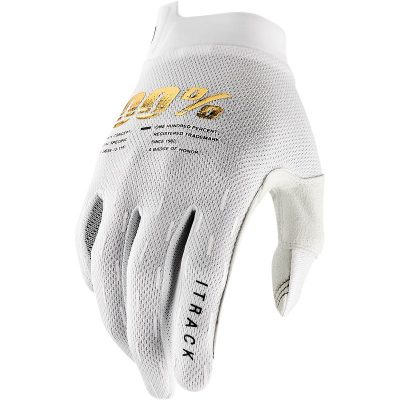 Ръкавици 100% iTRACK White