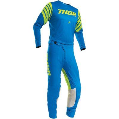 Екип THOR Prime Pro Strut Electric Blue/Acid