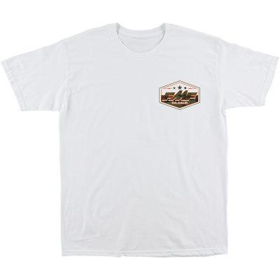 Тениска FMF Invisible Бяла