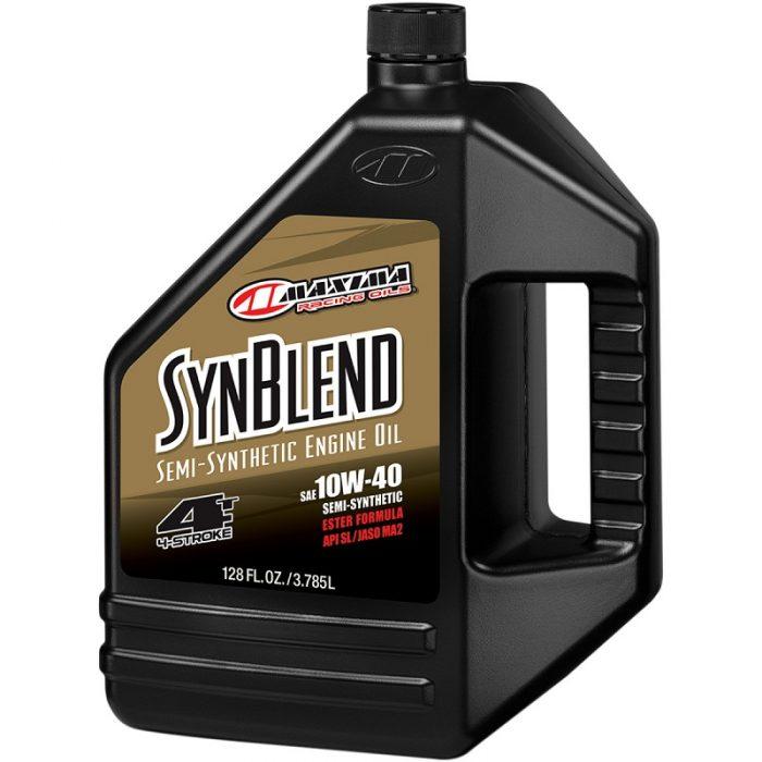 Двигателно Масло MAXIMA Syn Blend 10W40 - 3,78 литра