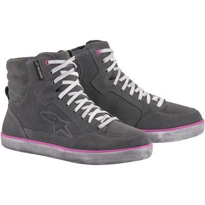 Дамски Обувки ALPINESTARS J-6 Waterproof Light Grey/Fuchsia