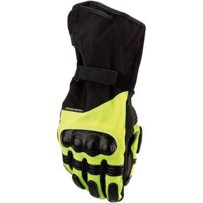 Ръкавици Moose Racing ADV1 Дълги Черни/Електриково