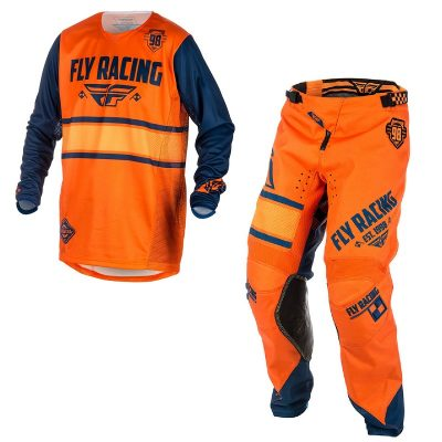Екип FLY Racing Kinetic Era Orange Navy