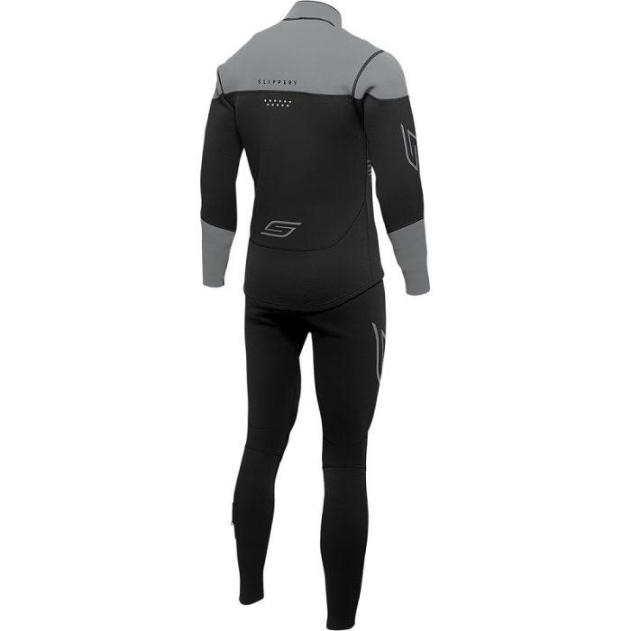 Неопрен Slippery Breaker Black/Charcoal гръб