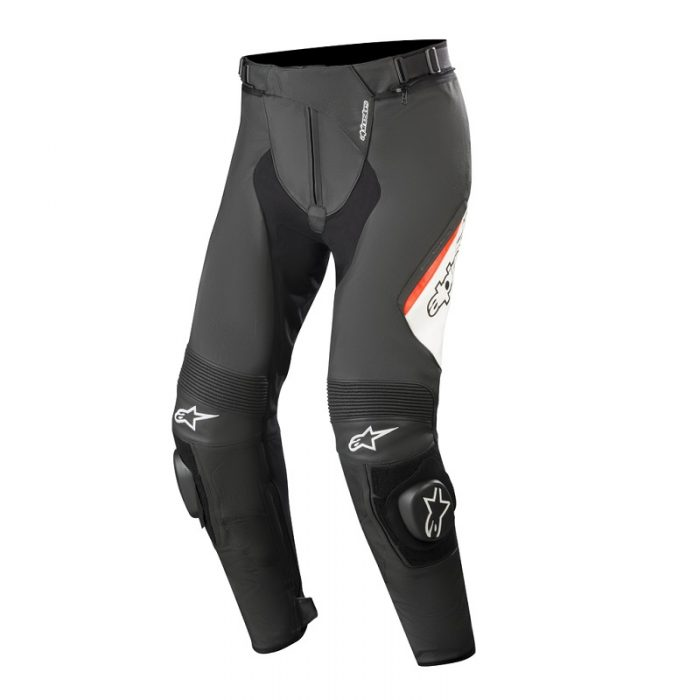 Панталон ALPINESTARS Missile v2 Black/White/Red Fluo