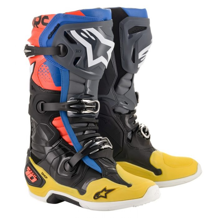 Ботуши ALPINESTARS Tech 10 Black/Yellow/Red