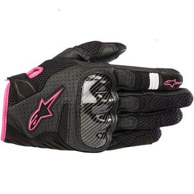 Дамски Ръкавици ALPINESTARS Stella SMX-1 Air v2 Black/Fuchsia