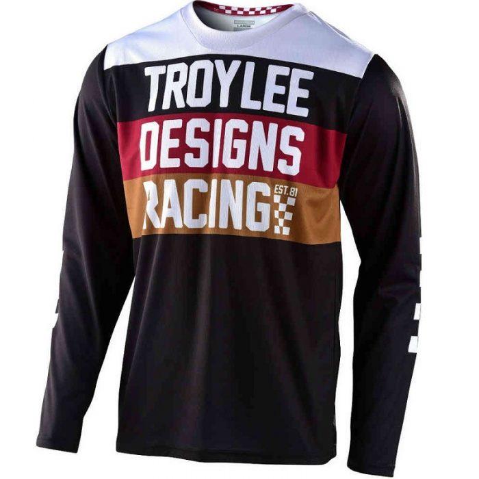 Блуза Troy Lee Designs GP Continental Black