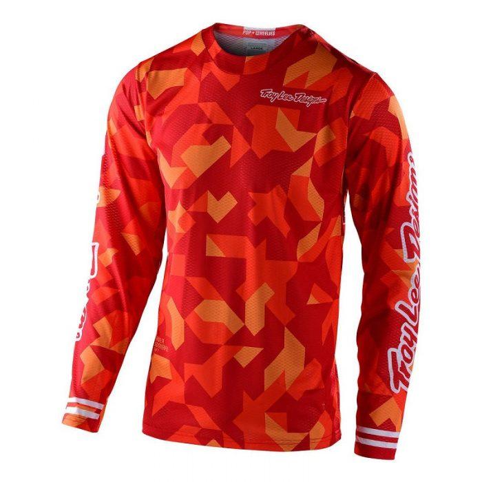 Блуза Troy Lee Designs GP Air Confetti Orange