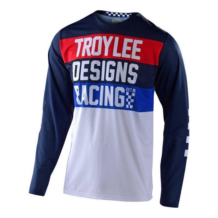 Блуза Troy Lee Designs GP Air Continental Navy